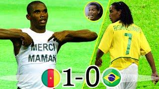 Brazil vs Cameroon Confederation Cup 20031-0 Cameroon vs Brazil Confederation Cup 2003