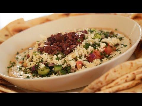 Greek Style 7 Layer Dip Recipe || KIN EATS