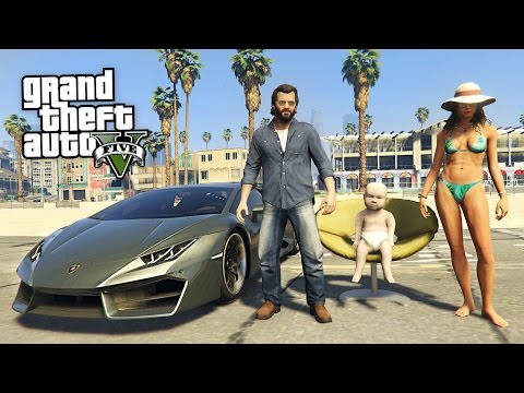 GTA 5 Real Life Mod #51 - BIRTHDAY PARTY!! (GTA 5 Mods)