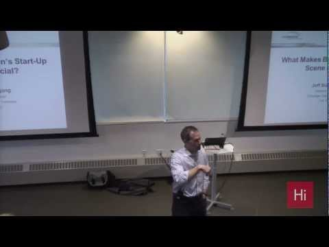 Harvard i-lab | What Makes Boston's Start-Up Scene Special? with Jeff Bussgang