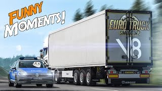 Euro Truck Simulator 2 Multiplayer Funny Moments & Crash Compilation #93