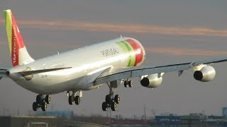 International Airliners at Newark Liberty International Airport KEWR / EWR Planespotting - HEAVIES