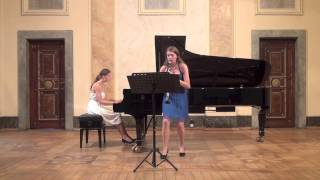 Francois Devienne - Premiere Sonate for clarinet and piano mov. I.  Allegro spiritoso