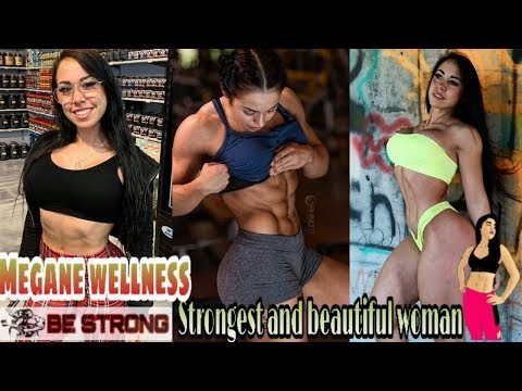 MEGANE WELLNESS | Strong & Sexy Woman | BODY GOALS | Female Fitness Motivation | BE STRONG