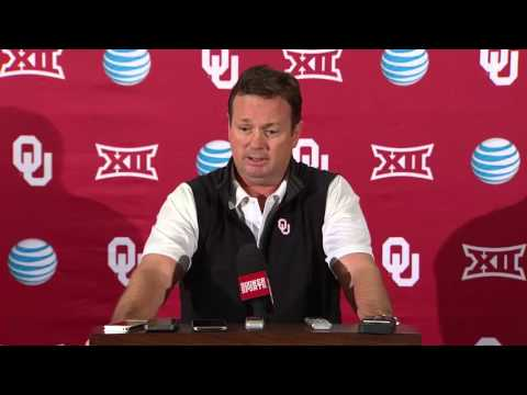 OU Football: Bob Stoops press conference