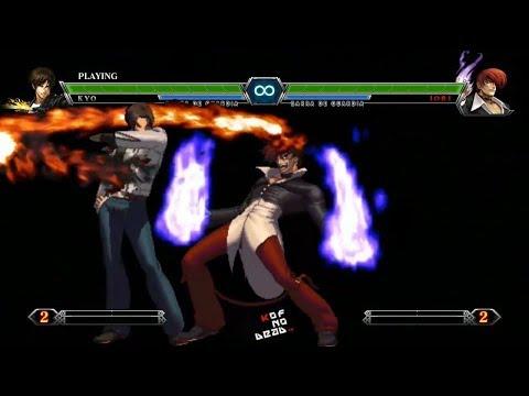 Ex Iori DM SDM Neomax vs Kyo DM SDM Neomax KOF XIII
