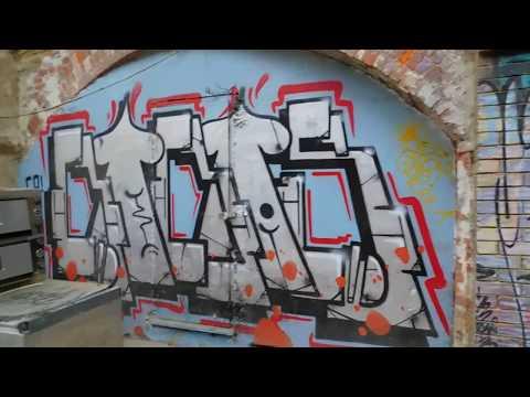 Hastings Caves Gotham Alley Graffiti