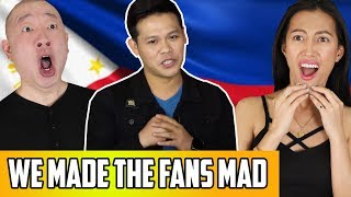 AGT Champions Q&A: Marcelito Fans Mad At Us... Did We Really Sit On Philippines Flag? Our Reaction!