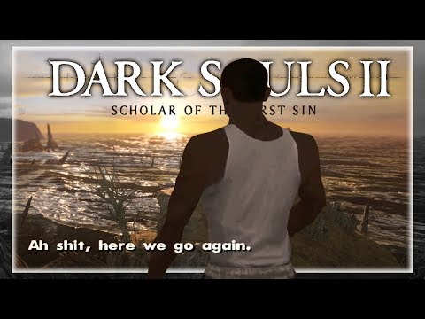 Марафон Dark Souls. Часть 2 — Прохождение DARK SOULS II: Scholar of the First Sin. День 1