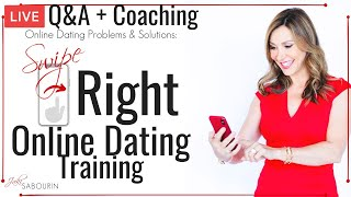 Swipe Right Online Dating Live Coaching and Q&A| Engaged at Any Age | Jaki Sabourin