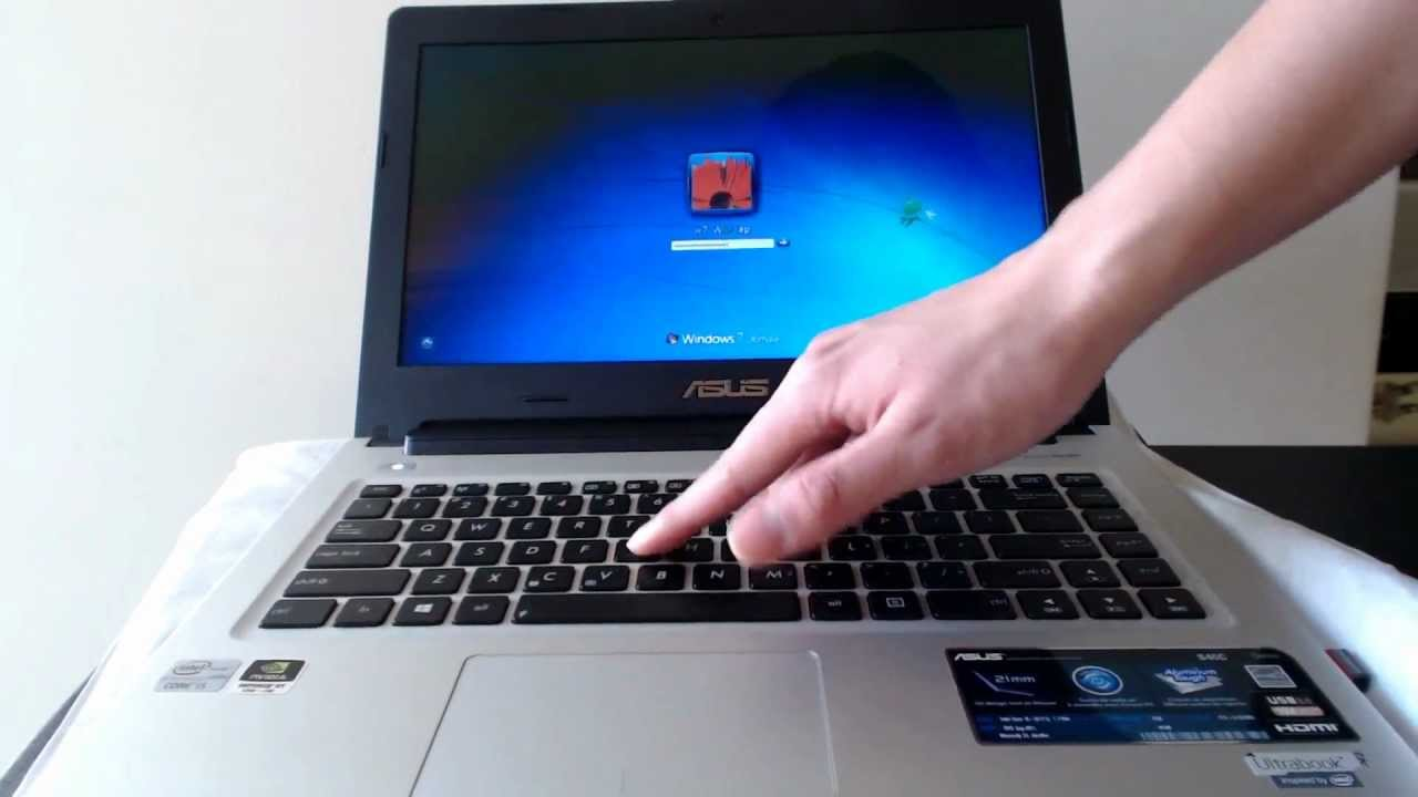 NEW DRIVER: ASUS S46CM SMART GESTURE