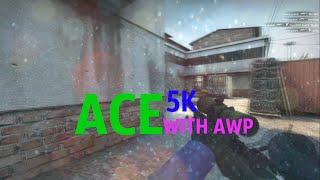 CS:GO - ACE WITH AWP