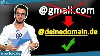 Eigene Domain Email Erstellen [SOFORT]: Bei All Inkl In Wenigen Sekunden Email Einrichten | Tutorial