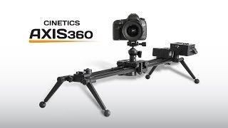 Cinetics Axis360 Camera Motion Control - Kickstarter Video