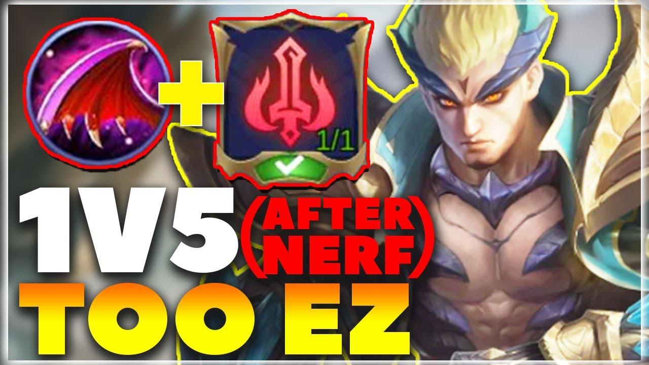 This New Emblem will make Yu Zhong OP after nerf...