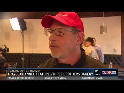 Travel Channel features Three Brothers Bakery