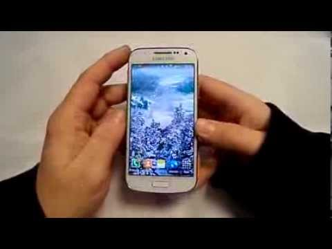 Snowfall Live wallpaper App Review on Samsung Galaxy S4 Mini