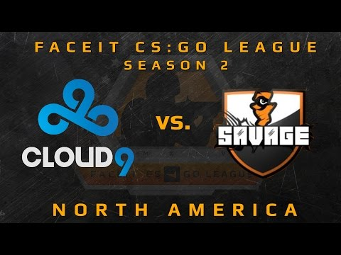 Cloud9 vs Savage - de_nuke (FACEIT CS:GO League Season 2)