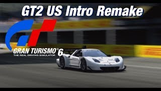 Gran Turismo 2 US Intro Remake: With Gran Turismo 6 Replay Footage