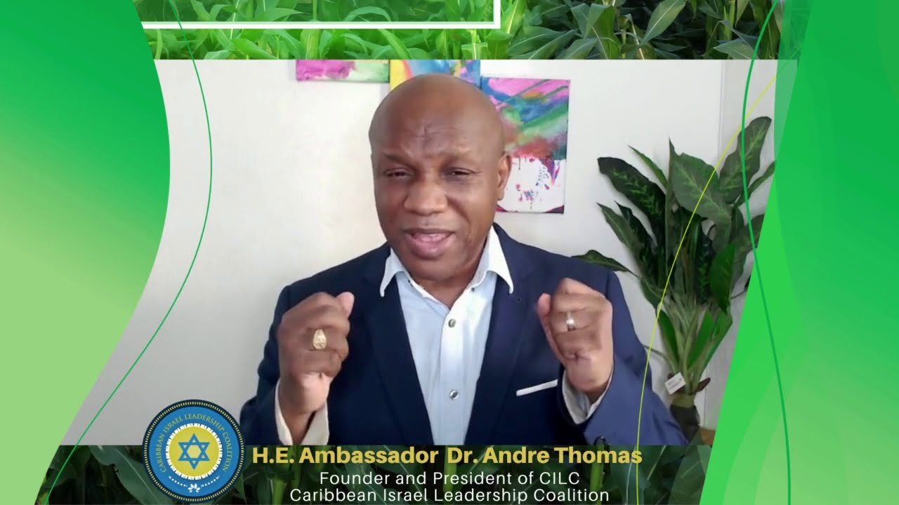 Israel-Caribbean Smart Farming Webinar: A Message from Ambassador Thomas