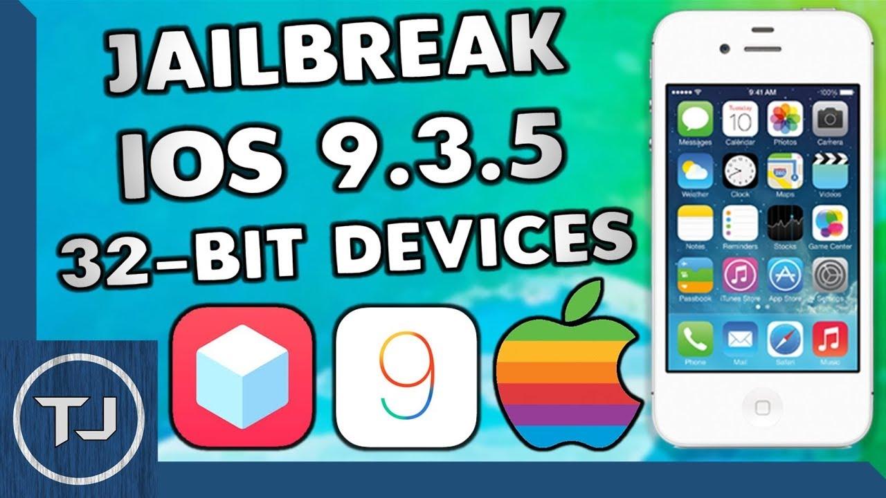 How To Jailbreak iOS 9 3 5! 32-Bit Devices! iPhone/iPad/iPod (Phœnix)