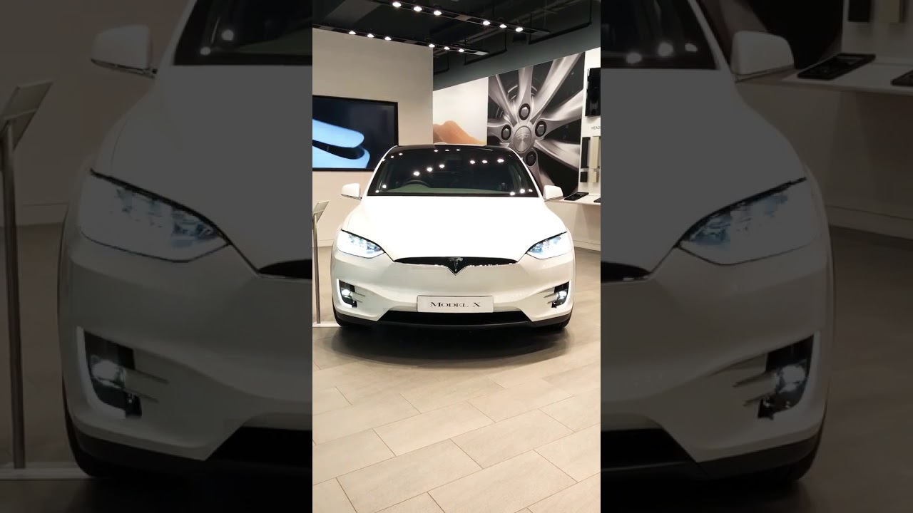 The Tesla Model X Dance Awesome Youtube