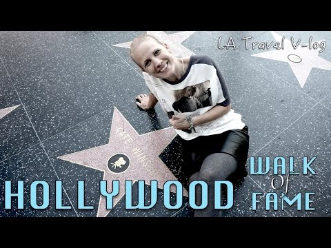 Hollywood Walk of Fame - A crazy stretch of LA | Travel Vlog