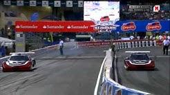 Carmen Jordá vs. Jacques Villeneuve - Stadium Race 2011 (Madrid)