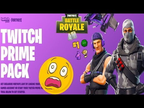 Fortnite Battle Royale - How To Link TWITCH PRIME + CLAIM REWARDS
