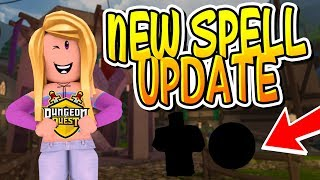 * NUEVO * SPELLS Y LOGO UPDATE LEAKS EN DUNGEON QUEST!! (Roblox)