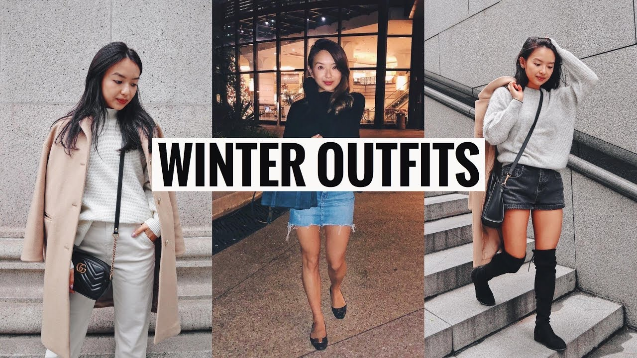 WINTER OUTFIT ESSENTIALS | OUTFIT IDEAS 2018 3
