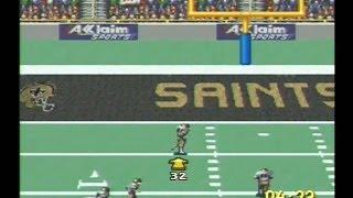 NFL Quarterback Club 96 SNES Gameplay Review Super Nintendo