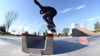 Skating the New skate park