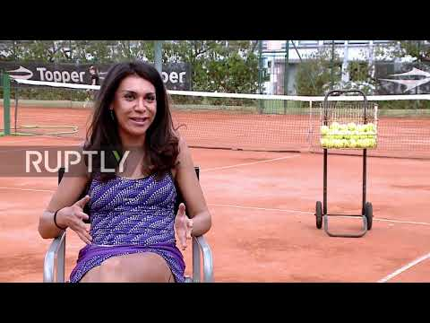 Argentina's first transgender pro tennis player aims for the stars with her supreme serves