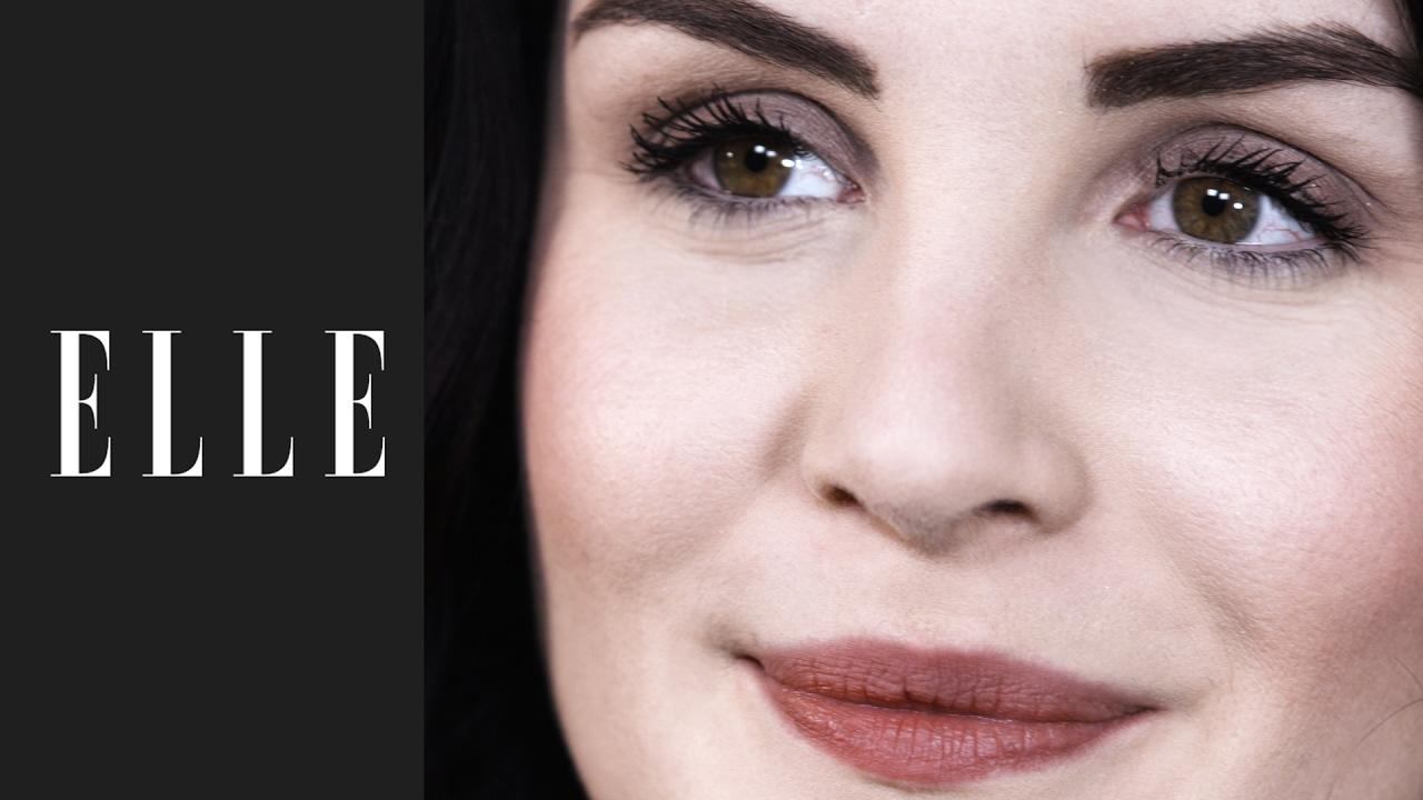 Comment Faire Un Maquillage Rapide En Moins De 5 Minutes Avec Allyfantaisies Elle Beaute Youtube