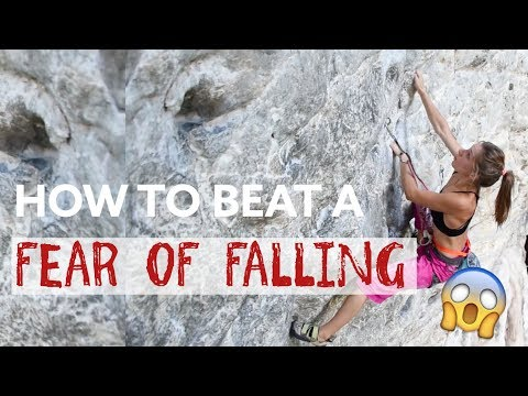 HOW TO OVERCOME A FEAR OF FALLING