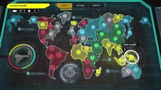 """RISK WORLD DOMINATION XBOX ONE ONLINE GAME """"MINDLESS VENDETTA"""" WITH GENERAL FREAK"""