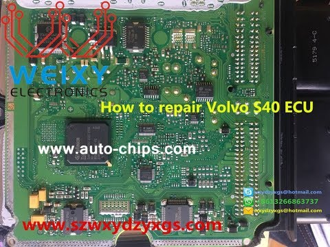 2005 Volvo Xc90 Wiring Diagram How To Repair Volvo S40 Ecu Idle Throttle Valve Failure