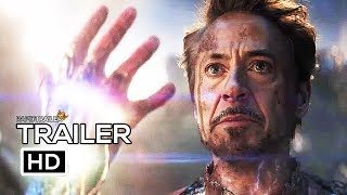 AVENGERS 4: ENDGAME Official Blu-Ray Trailer (2019) Marvel, Superhero Movie HD