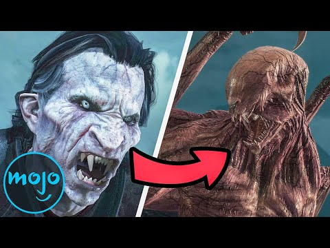 Top 10 Most Horrifying Video Game Transformations |