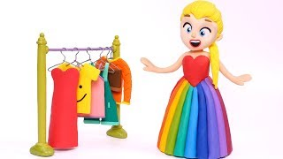 The new dress of mom 💗 Cartoons For Kids