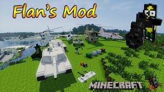 Minecraft 1.7.10 - Flan's Mods / Español