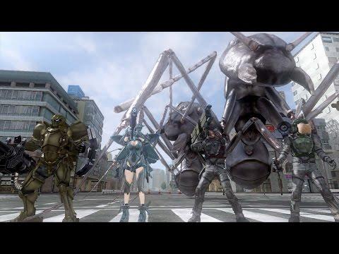 Earth Defense Force 4.1 Gameplay Let's Play Walkthrough | EDF! EDF! EDF!