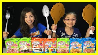 Yummy Nummies Surprise Package And Mini Chicken Nuggets Taste Test | Kidtoytesters