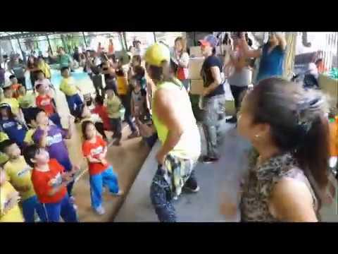 Appla Pen Zumba by Chime Learning School students, Sports Fest 2016