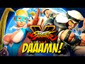 Icons Daaamn baby girl!!! [street fighter v] [gameplay!]