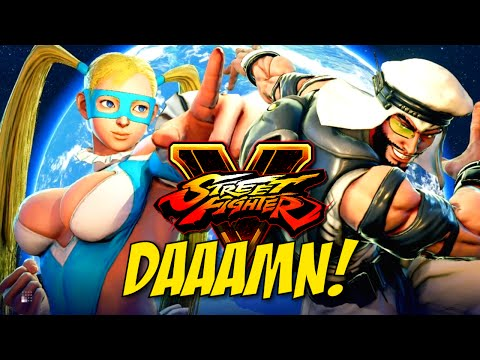 DAAAMN BABY GIRL!!! STREET FIGHTER V GAMEPLAY!