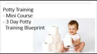 How to Potty Train in 3 Days or Less