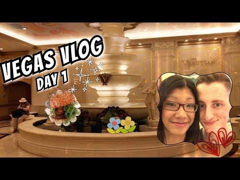 Venetian / Fat Tuesday / BurGR - Las Vegas 2016 Trip - Vlog Day 1