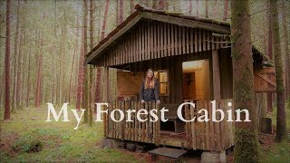 A Dream comes true 🌳🏡🌲The own forest cabin 🦊 Vanessa Blank - 4K